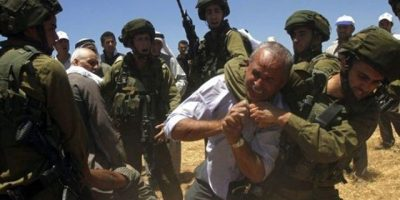 limpieza étnica de Palestina