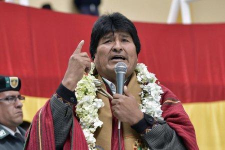 Evo Morales rechaza intervención de EE.UU en Venezuela