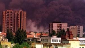 bombardeo a Serbia en 1999