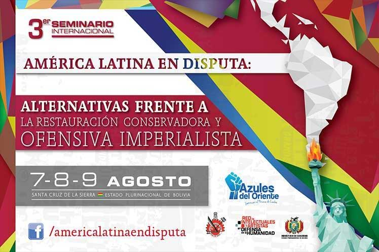 """Declaración del 3er Seminario Internacional: América Latina en Disputa """"Alternativas frente a la restauración conservadora y ofensiva imperialista"""""""