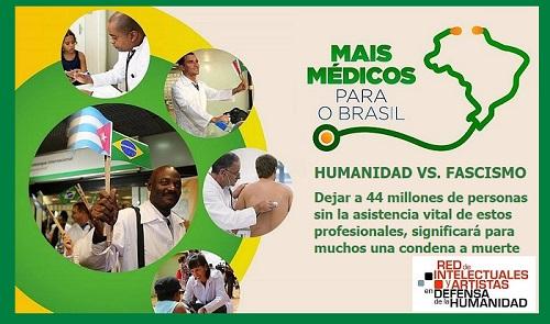 PROGRAMA MÁS MÉDICOS: HUMANIDAD VS. FASCISMO