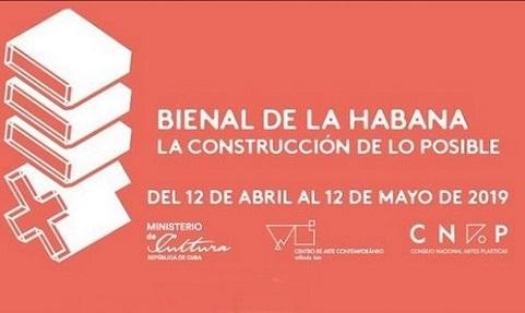 Informaciones sobre la XIII Bienal de La Habana publicadas en el Boletín No.1