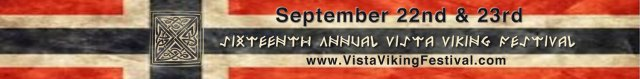 vista viking fest banner