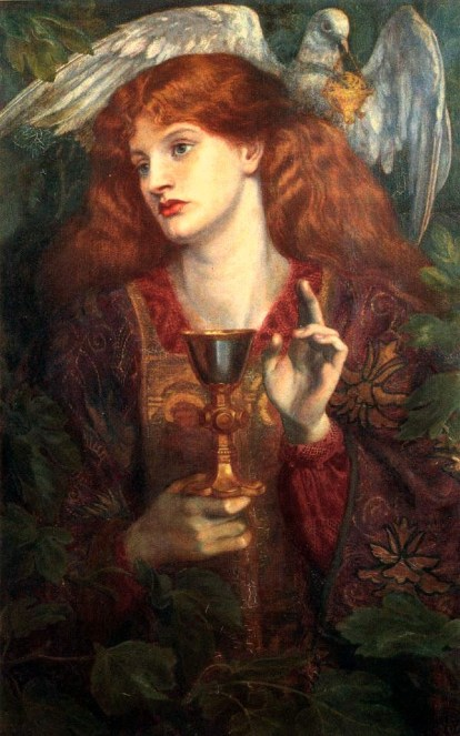 Dante_Gabriel_Rossetti_-_The_Damsel_of_the_Sanct_Grael_(1874)