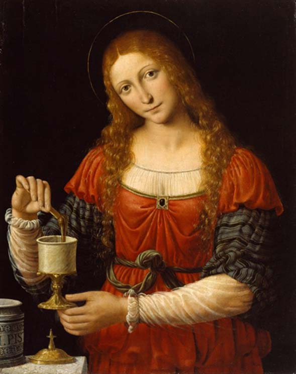 mary magdalene by solari