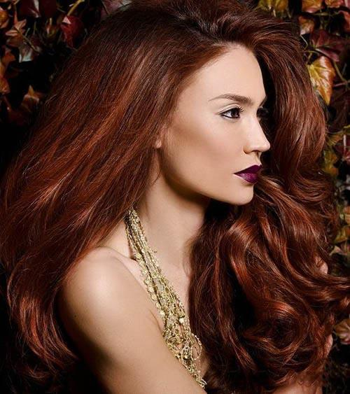 Balayage highlights professional tools for a perfect score red hairstyle with french light auburn highlights sombre hair coloring pmusecretfo Image collections