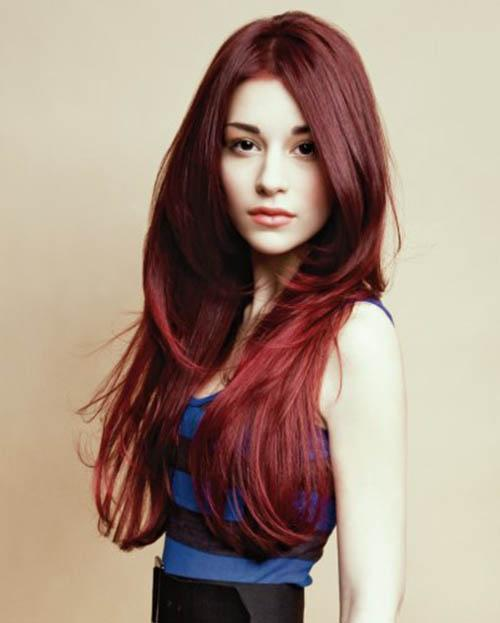 Long Brown Red Hairstylesthe Embodiment Of Femininity Red Hairstyle