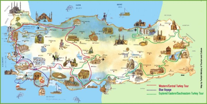 turkey-attractions-map