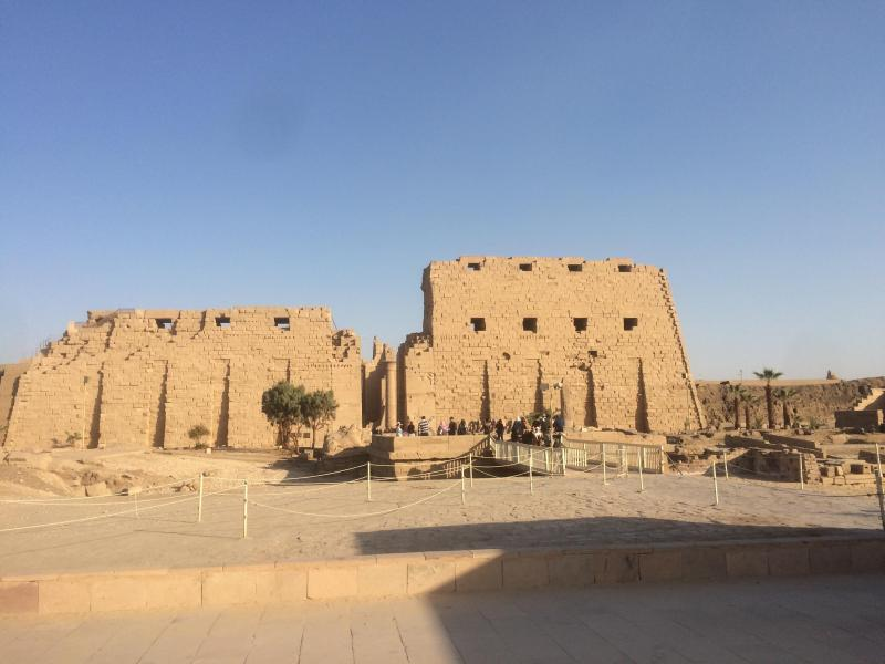 General view of Karnak Temple