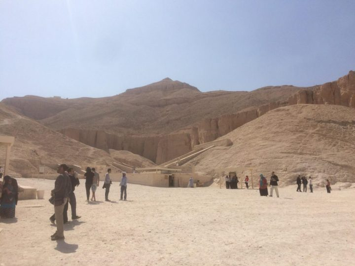 View of the Valley of the Kings
