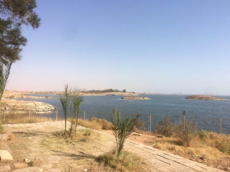 lake nasser in abu simbel, egypt