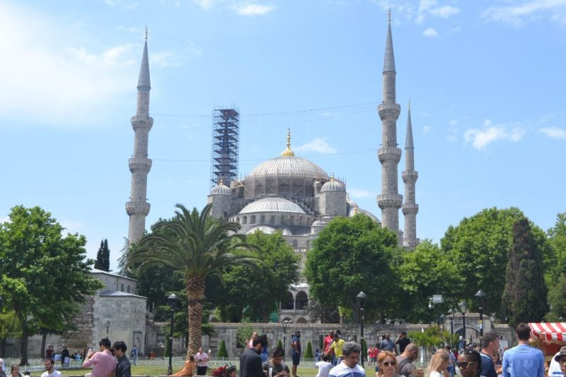 Blue Mosque or more known by Sultanahmet Mosque