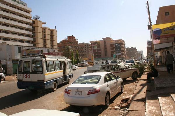bus in khartoum