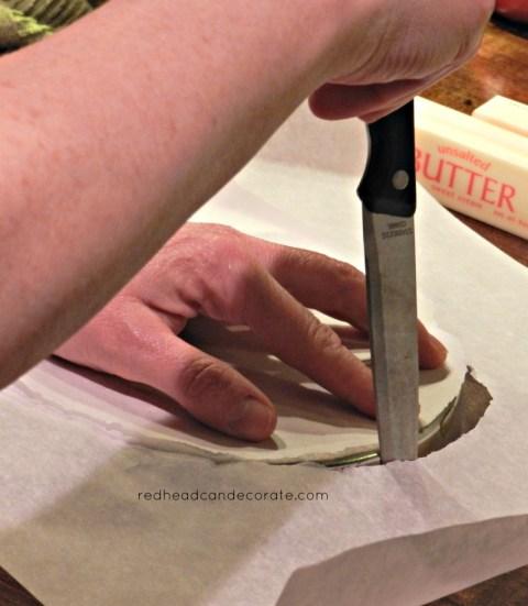 Cake Pan Cutting
