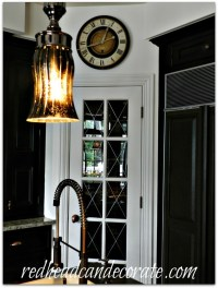 My (way) Leaded Glass French Door