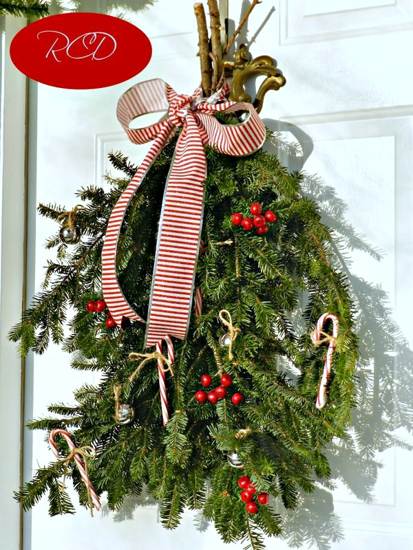 Redhead Can Decorate Swag Wreath