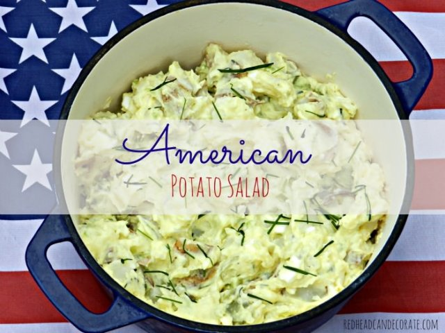 potato salad by What Meegan Makes