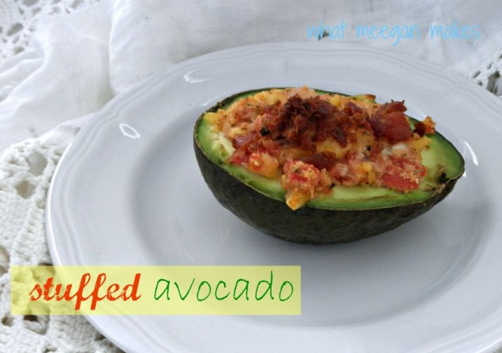 Stuffed Avocado by What Meegan Makes