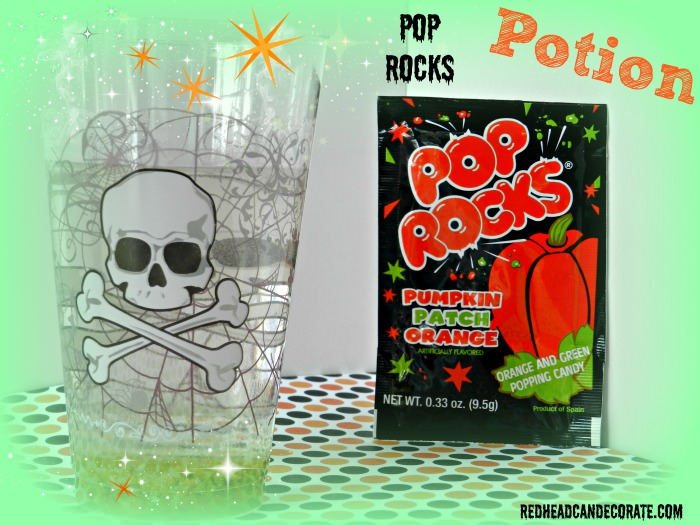 Pop Rocks Potion