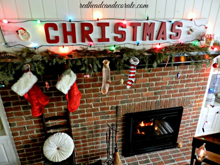 Christmas Sign by Redheadcandecorate.com