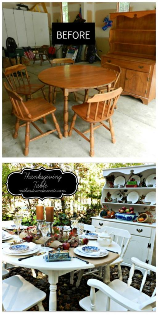 Thanksgiving Table Makeover