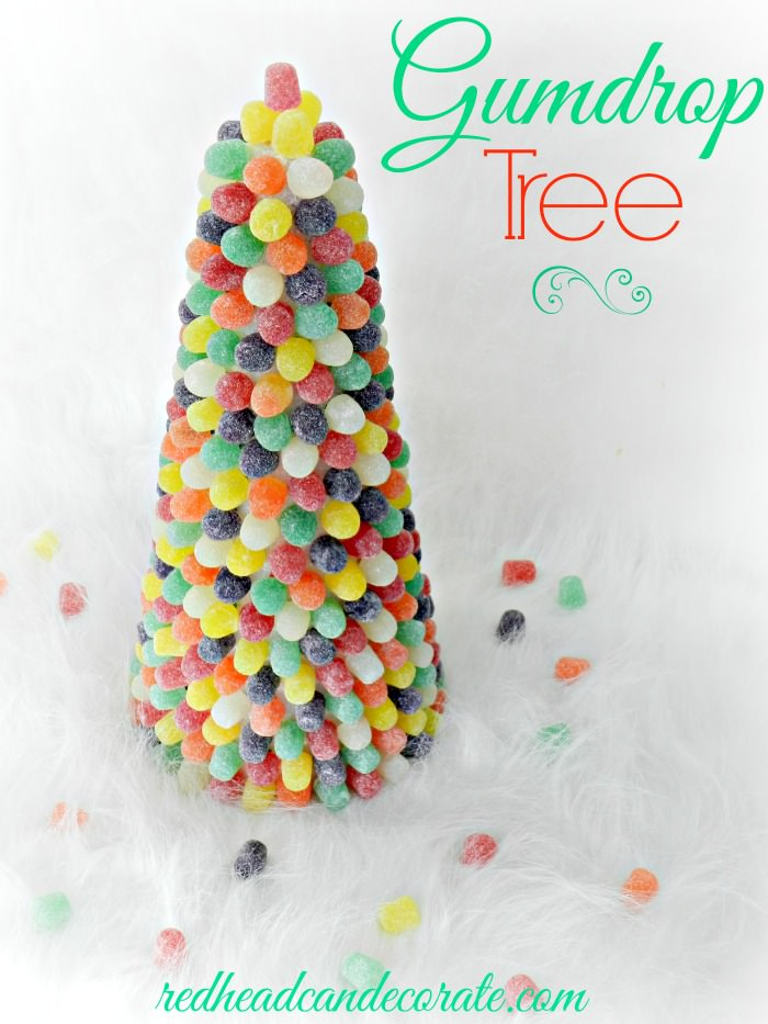 Gumdrop Tree by redheadcandecorate.com