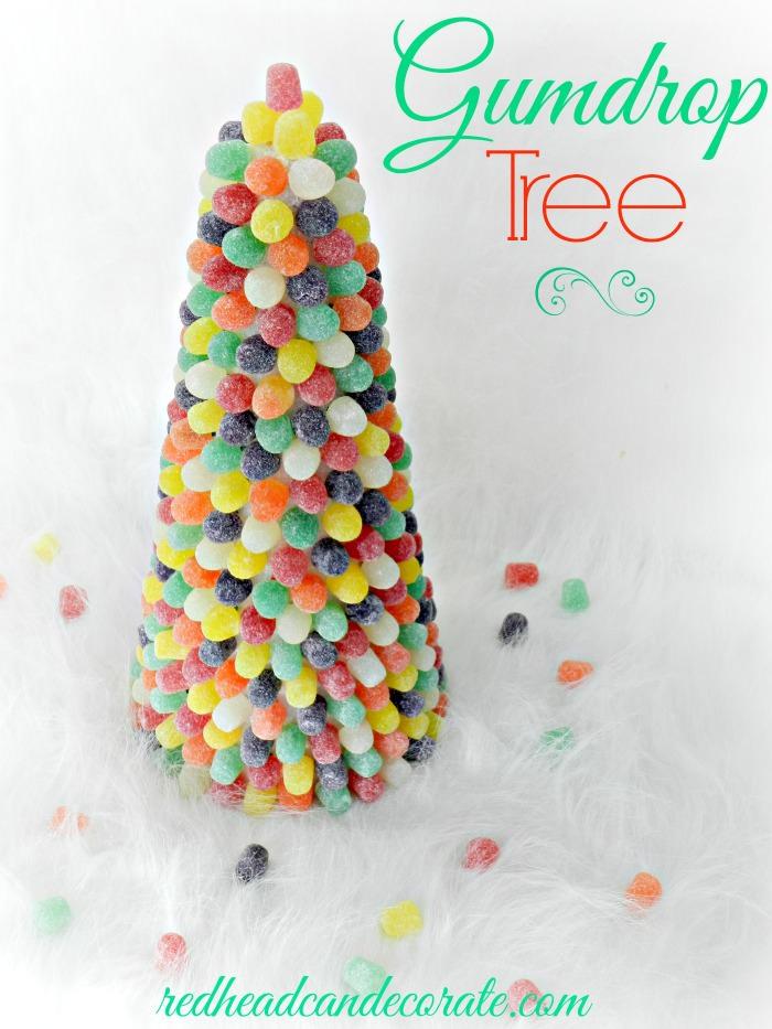 Gumdrop Tree by redheadcandecorate.com