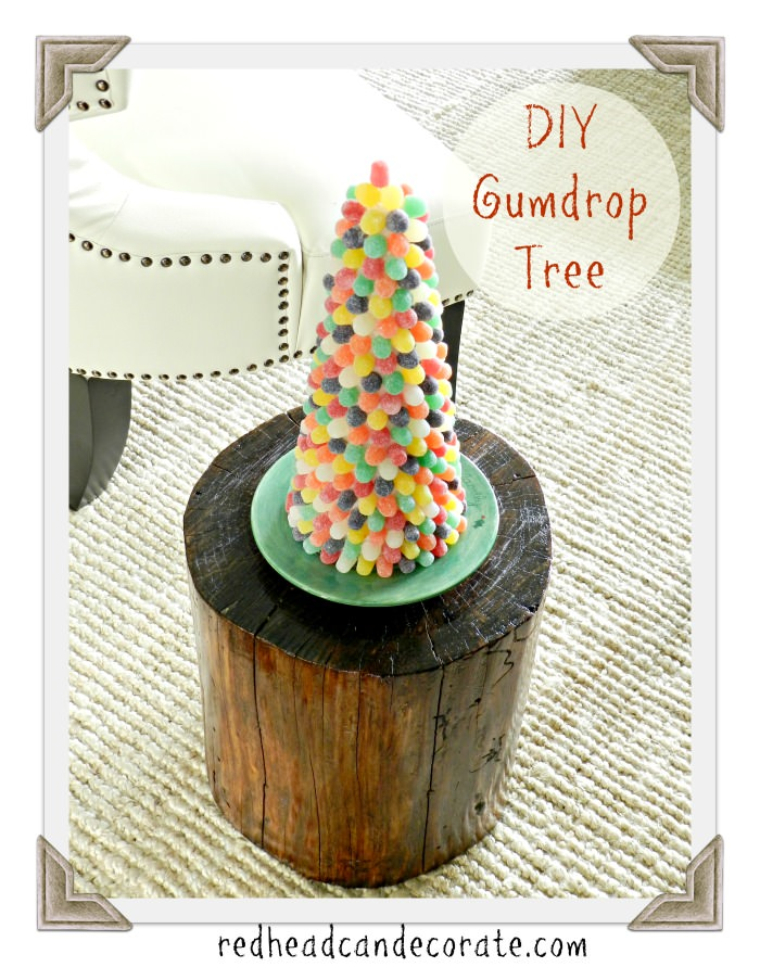 How to make your own Gumdrop Tree!