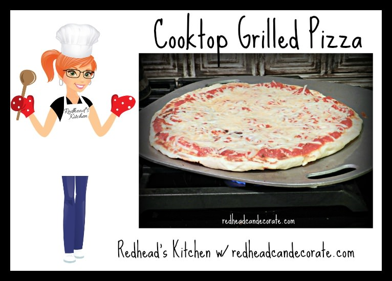 Cooktop Grilled Pizza
