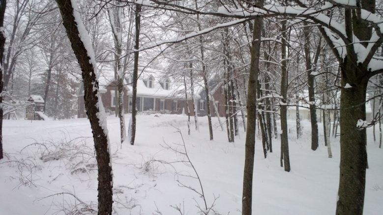 redheadcandecorate.com's House in the Winter