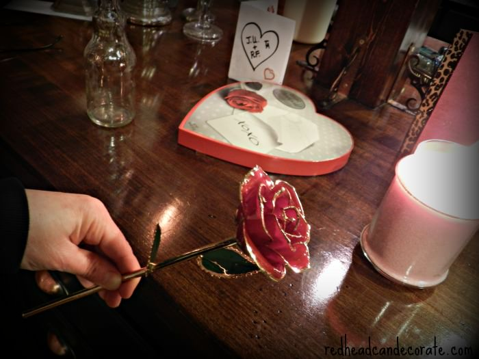 Where to find hand dipped roses.