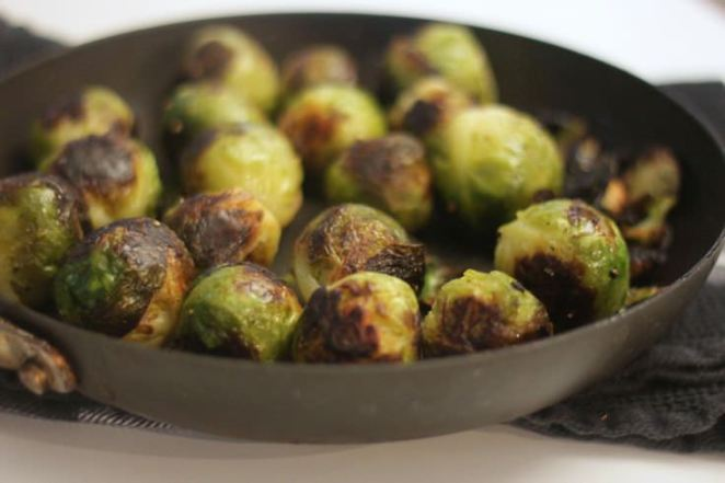 Best Brussel sprouts Ever by Nibbles by Nic @ Redhead's Kitchen
