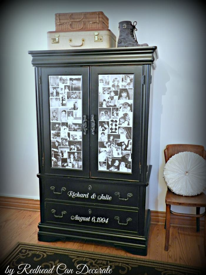 Anniversary Photo Armoire