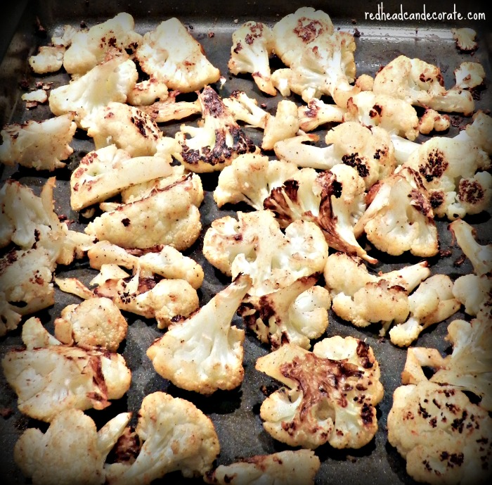 Roasted Cauliflower Recipe-Yum!