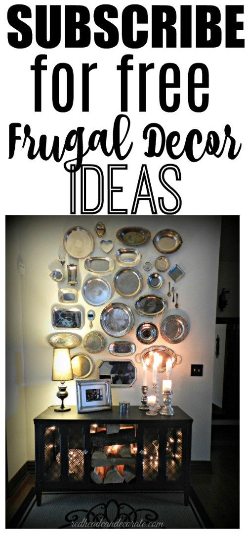 This lady has the best ideas using thrift store items and lots of dollar store items, too.  Lots of elegant & charming decor.