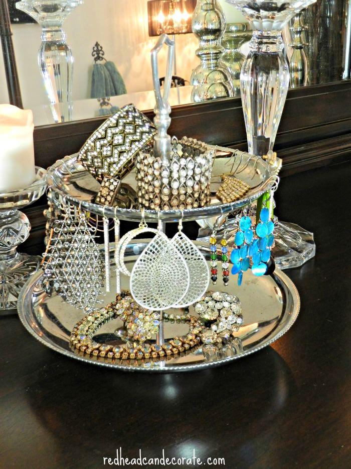 Jewelry Silver Tray