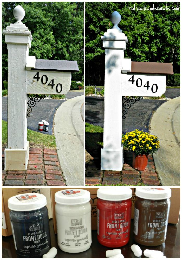 Paint your mailbox with amazingly durable Modern Masters Paint