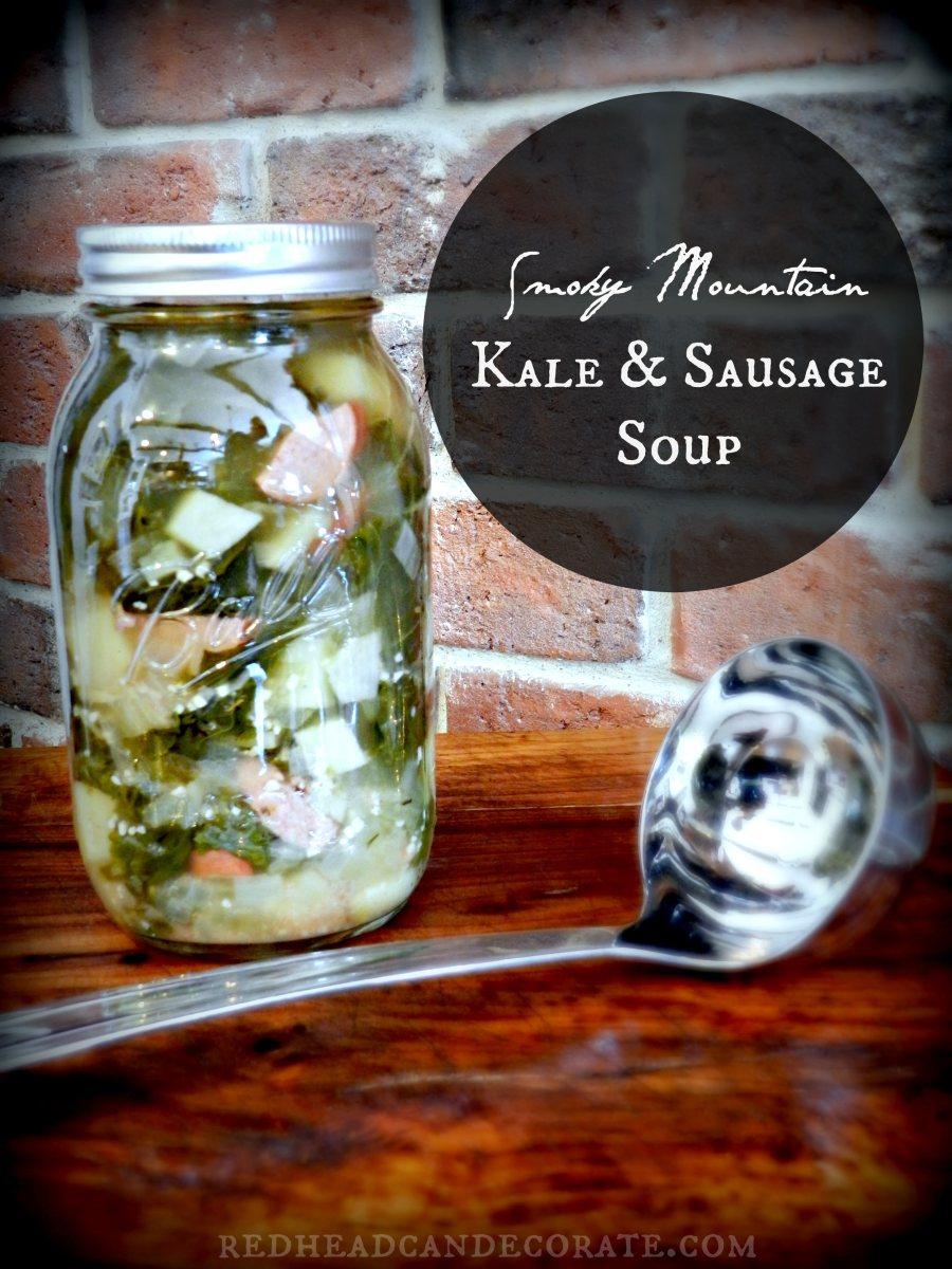 Smokey Mountain Kale & Sausage Soup
