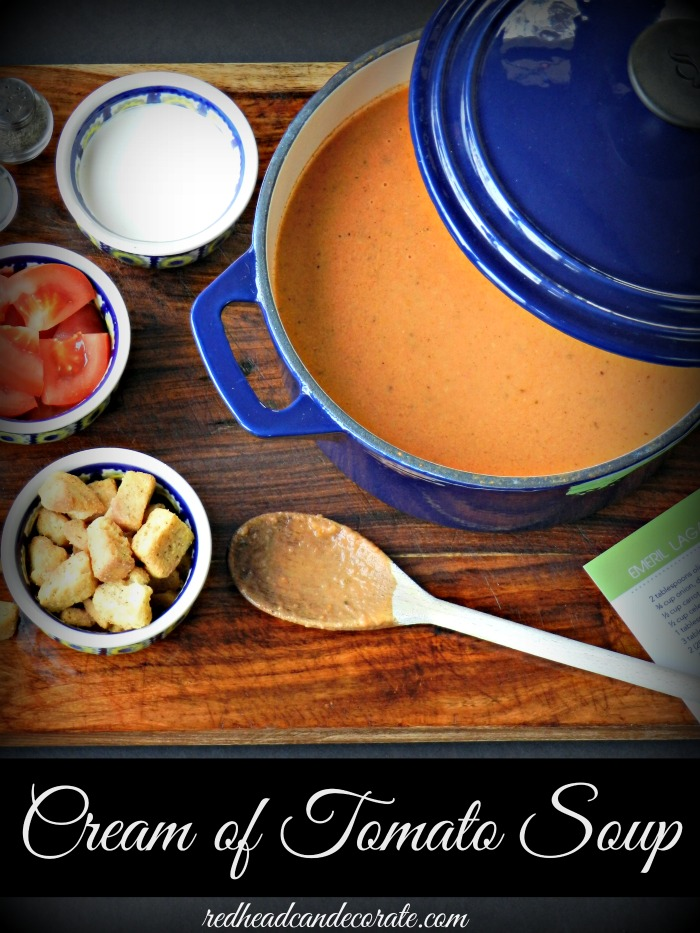 Cream of Tomato Soup by Emeril Lagasse
