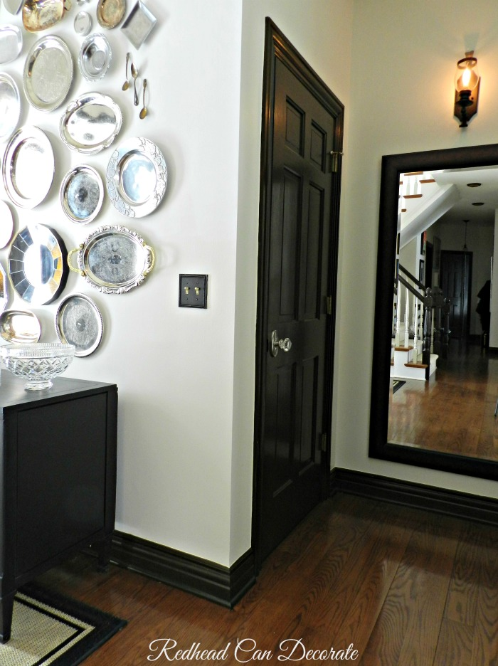 Dark Doors & Glass Knobs