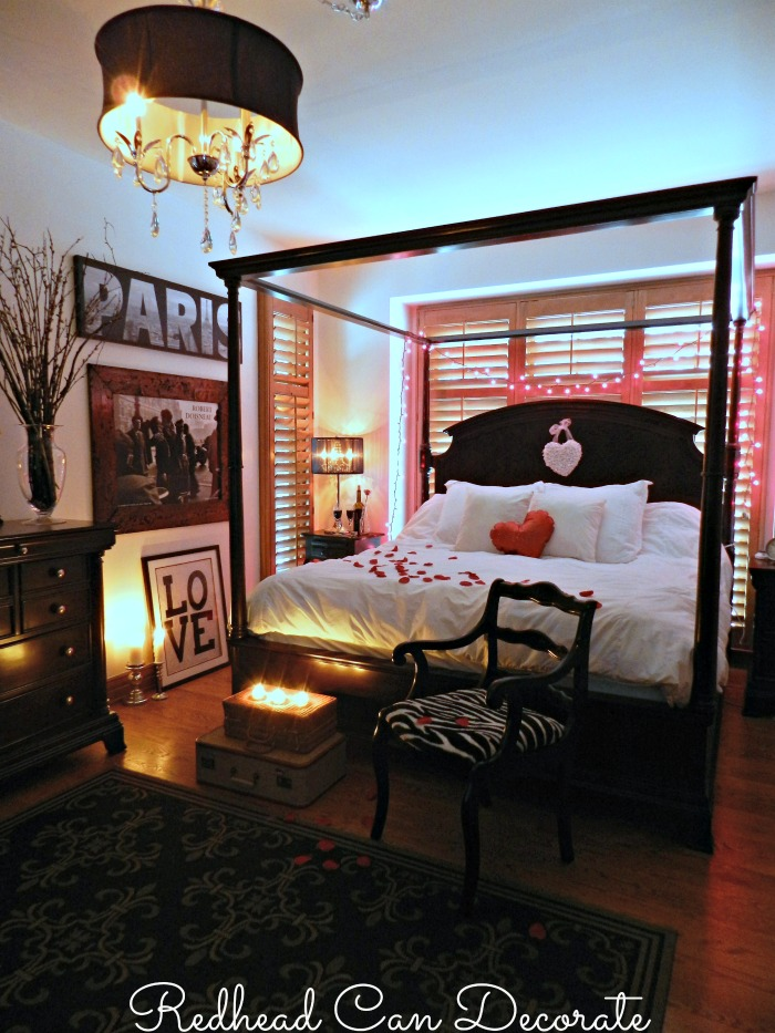 Romantic Room Lay Out: Redhead Can Decorate