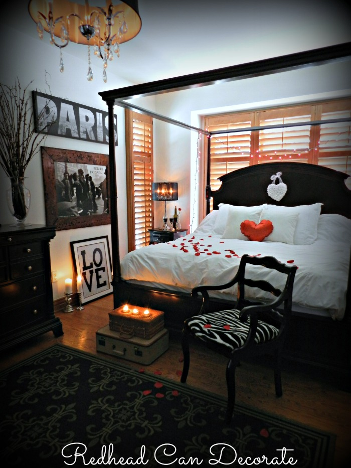 Romantic Bedroom Redhead Can Decorate