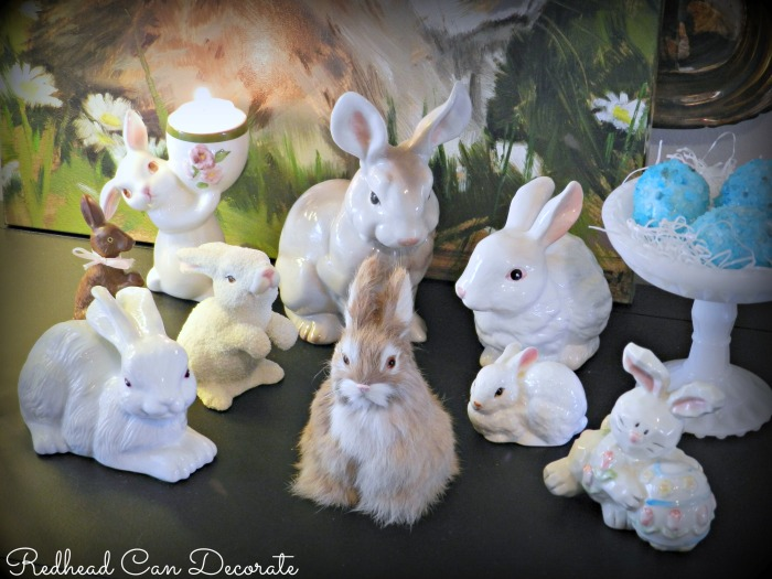 Redhead Can Decorate's Bunny Collection