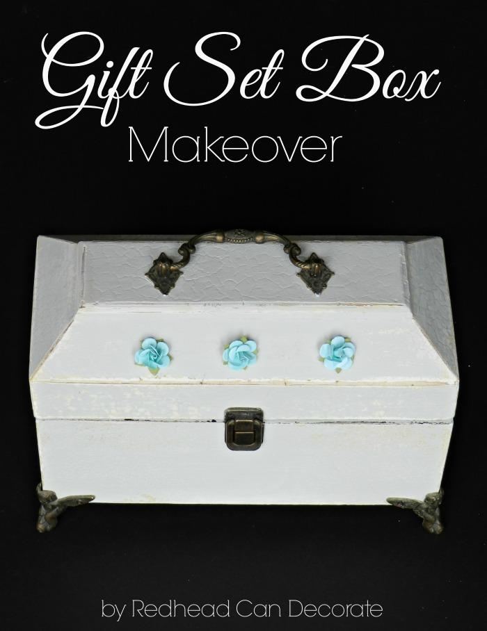 Gift Set Box Makeover