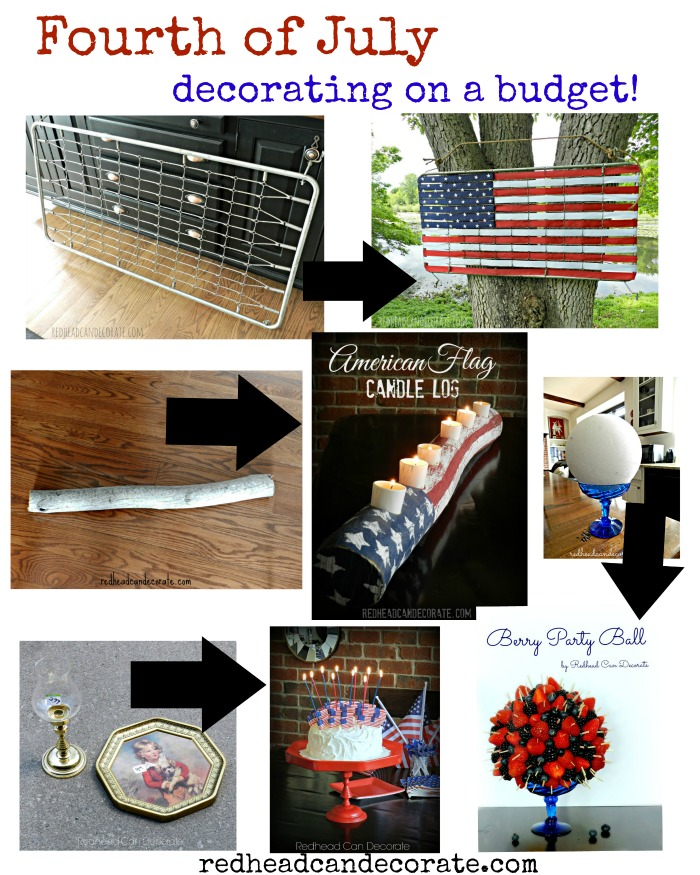 Unique ways to decorate for any patriotic holiday on a budget!