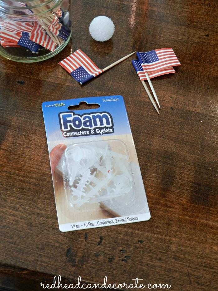 FloraCraft Foam Connectors & Eyelets