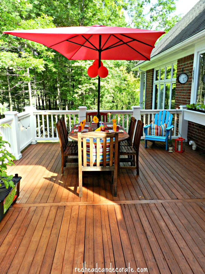 Beautiful Deck Makeover by Thompson's WaterSeal