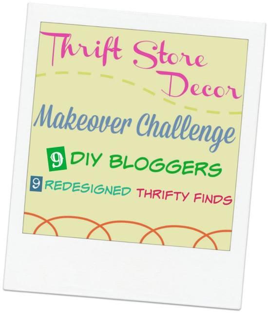 Thrift Store Decor Challenge