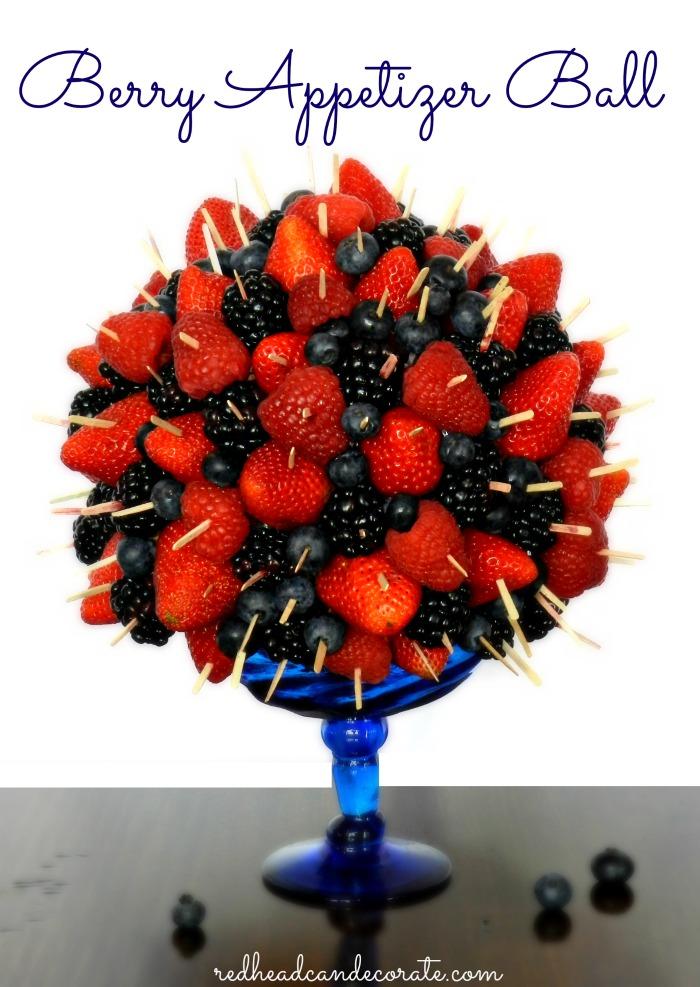 Berry Berry Appetizer Ball