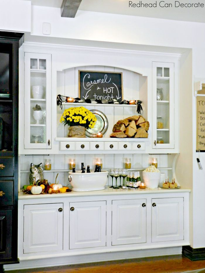 Fall Hutch by Redhead Can Decorate